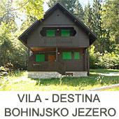 Vila destina Ukanc Bohinj